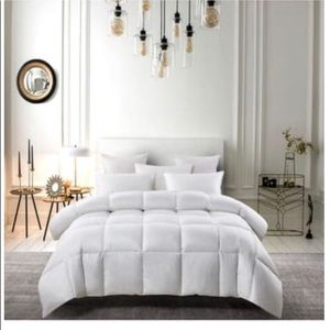 Bedding comforter down and feather